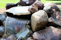 Water Feature Landscaping Des Moines Iowa